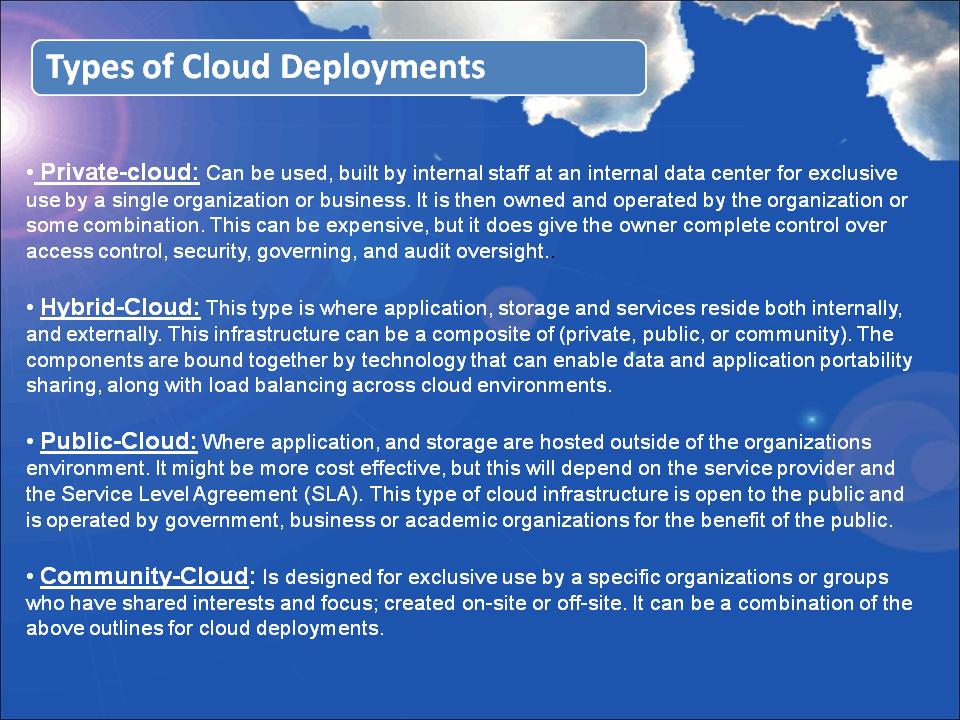 DigiBrains - Cloud Presentation